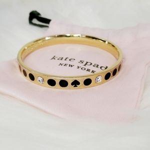 Kate Spade Gold and Black Bracelet